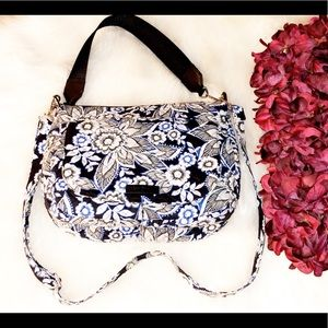 VERA BRADLEY Quilted Floral Convertible Purse